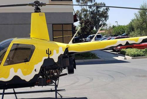 2017 R22 BETA II - ESTIMATED LATE APRIL FLY AWAY