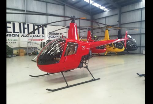 2011 OVERHAUL R22 BETA II