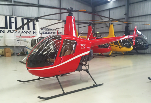 NEW R22 BETA II - EST. FLY AWAY FEBRUARY - EX. SYDNEY