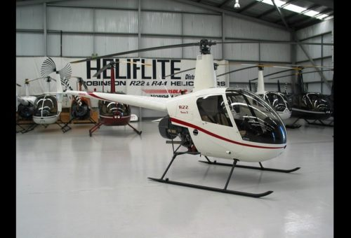 NEW R22 BETA II - ESTIMATED OCTOBER FLY AWAY EX. SYDNEY