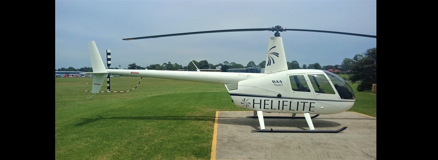 R44 Raven I - No Rego 1500 x 550 | Leaders in Helicopter Sales and Service - Heliflite