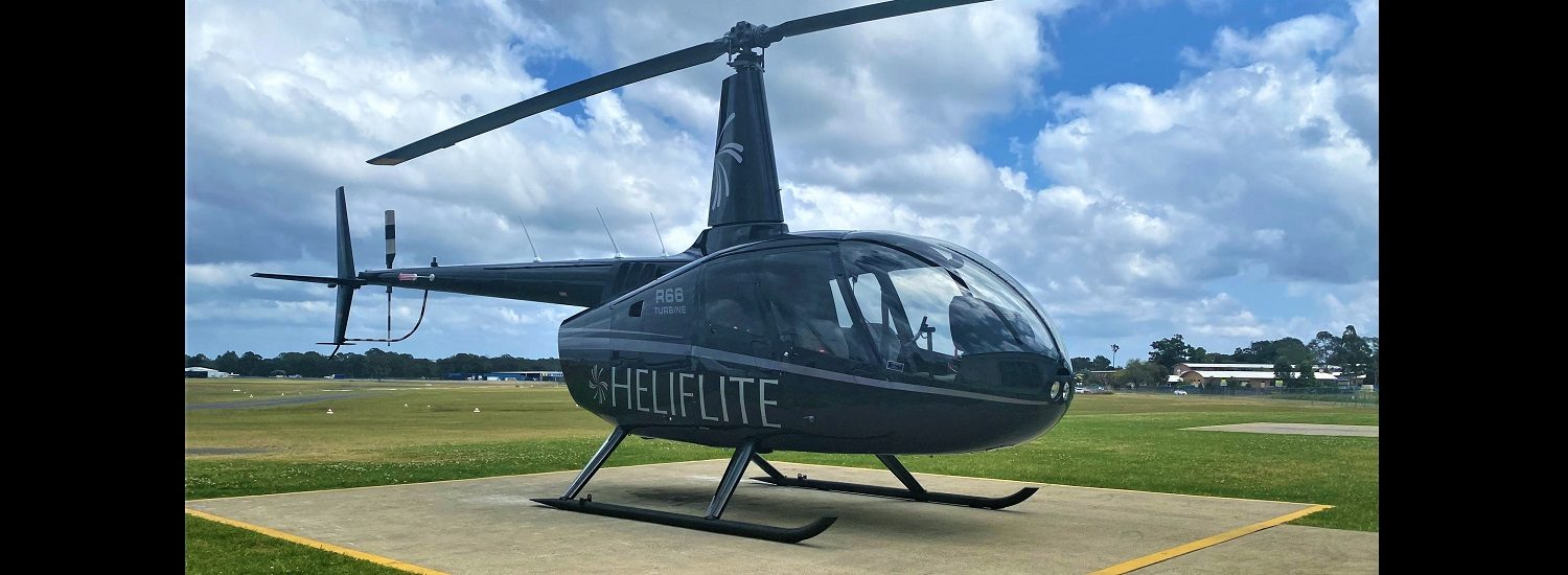 R66 Black with Silver Trim 1500 x 550 | Leaders in Helicopter Sales and Service - Heliflite