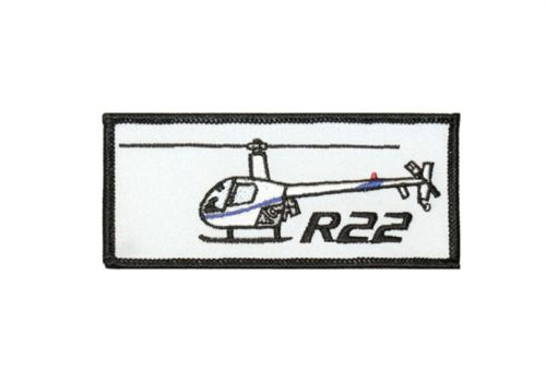 R22 Emroidered Patch