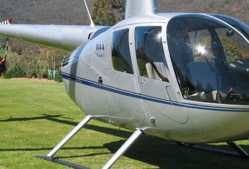 NEW R44 RAVEN II WITH AIR-CON