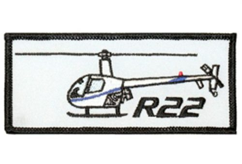 R44 Emroidered Patch