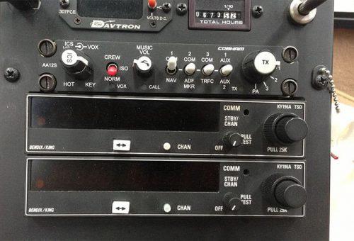 KY-197A VHF COM