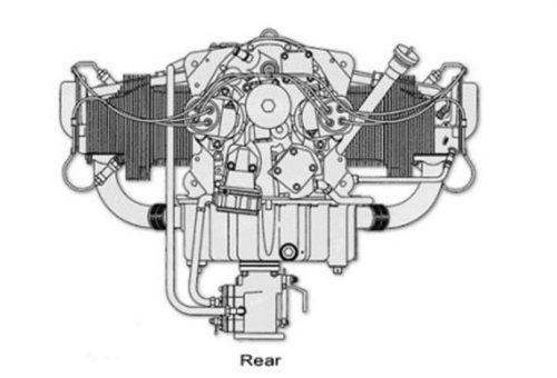O-360 R22 Beta II Engine