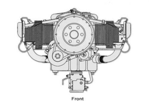 IO-540 R44 Raven II Engine - Ready for Overhaul