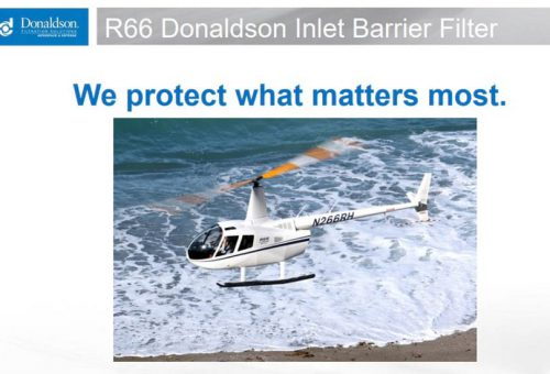 DONALDSON - R66 TURBINE INLET BARRIER FILTER (IBF) SYSTEM