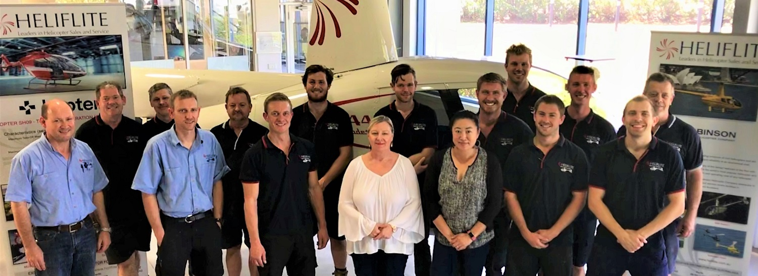 HF Team 1500 x 550 | Leaders in Helicopter Sales and Service - Heliflite