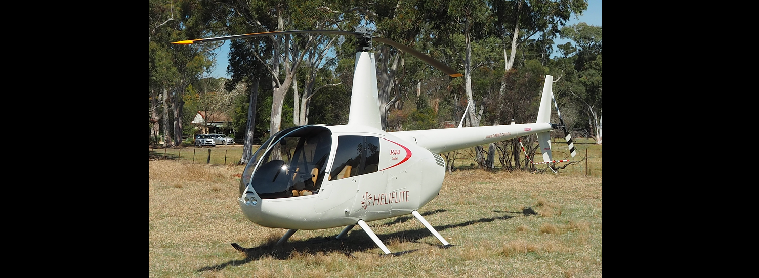 R44 Cadet 1500 x 550 | Leaders in Helicopter Sales and Service - Heliflite