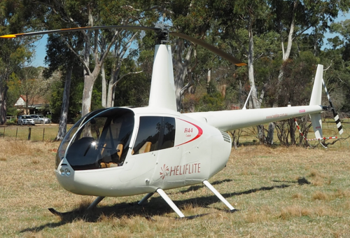 NEW R44 CADET 2-SEAT HELICOPTER - IN STOCK - EX NEW ZEALAND