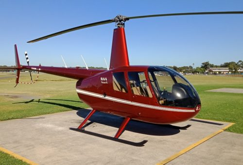 New R44 RAVEN II WITH GLASS AVIONICS & AUTO PILOT - IN STOCK